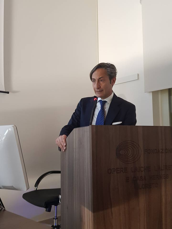 Dottor Alfonso Maria Irollo al Congresso per PMA Fecondazione Assistita a Loreto......