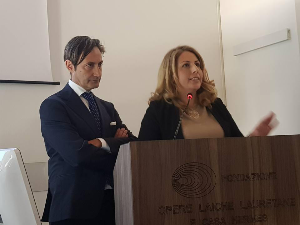 Dottor Alfonso Maria Irollo al Congresso per PMA Fecondazione Assistita a Loreto....
