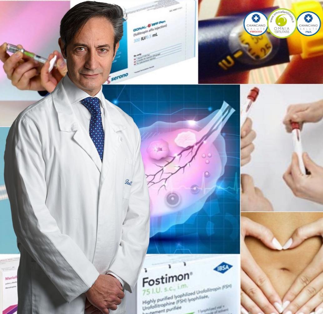 Stimolazione farmacologica dell'ovulazione. Dr Alfonso Maria Irollo